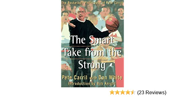 The Smart Take from the Strong: The Basketball Philosophy of