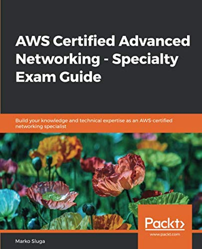 AWS Certified Advanced Networking – Specialty Exam Guide Front Cover