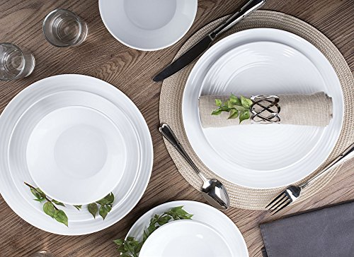 Dinnerware Set, 12-Piece for 4