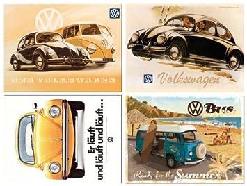 Vw Auto Kühlschrank : Amazon.de: vw volkswagen beetle bulli bus & käfer motivauswahl 2