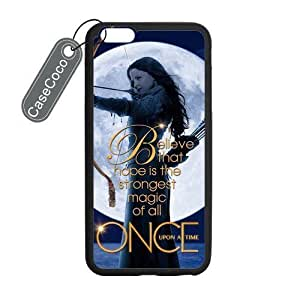 Case Cover For SamSung Galaxy Note 4 Favorite TV Series Once Upon Time Iphone 5/5S - Protective Hard Back Black Hard Sides