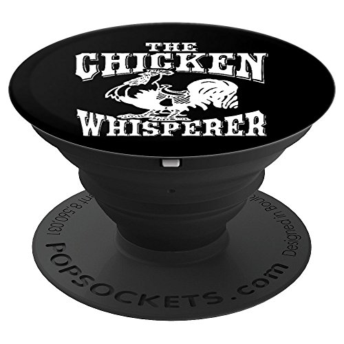 The Chicken Whisperer Poultry Chef Funny Humor - PopSockets Grip and Stand for Phones and Tablets ()