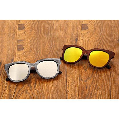 Vintage Lunettes Soleil de Protection de Wayfarer Hommes Lunettes C3 Soleil Soleil Femmes Pour Fansport UV de Unisexes Lunettes dwOROqFv