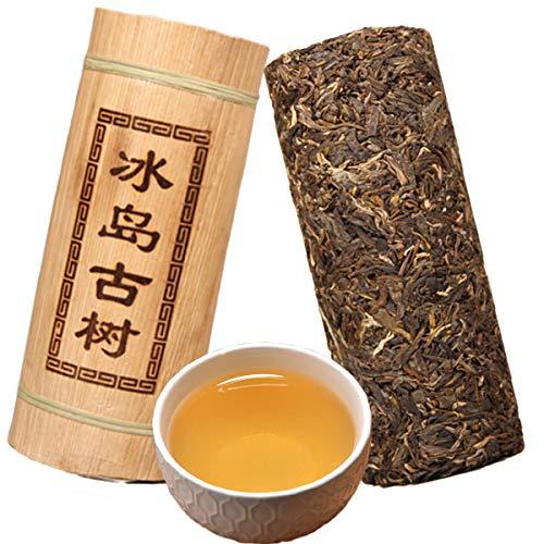 Yunnan Puerh tea Dragon pillar bamboo tube raw tea Iceland old tree puer material pu er tea 500g (1.1LB) Pu'er tea Green tea Puer tea Chinese tea sheng cha Pu-erh tea Old trees Pu erh tea