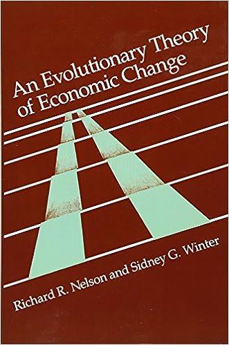 amazon an evolutionary theory of economic change belknap press
