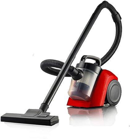 Aspiradora, aspiradora, pequeños electrodomésticos, ácaros horizontales, aspirador de alta potencia, rojo, 1000W: Amazon.es: Hogar