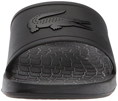 Lacoste Slide Fraisier Black black Men's Sandal afxfBrZYn