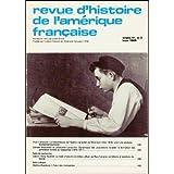 Revue d'histoire de l'Amérique française. Volume 41, no 3. Hiver 1988 (Revue d'histoire de l'Amérique française)