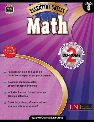 Essential Skills: Math Grd 6 (Essential Skills (Teacher Created Resources)) Text fb2 book