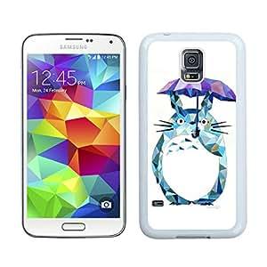 Samsung Galaxy S5 G9008V My Neighbor Totoro 15 White Cellphone Case Handmade and Luxury Design