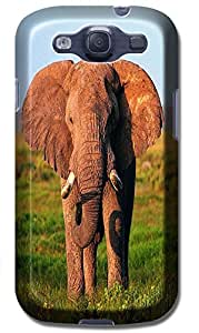 Fantastic Faye Cell Phone Cases For Samsung Galaxy S3 i9300 The Cute Design With Elephant No.6