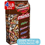 SNICKERS, TWIX, 3 MUSKETEERS & MILKY WAY Minis Size Candy Variety Mix, 240Piece