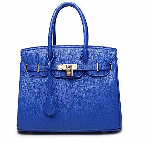 Women's Zippers Royalblue Casual Bags Bags Pu VogueZone009 Shoulder Crossbody Dress ZdXw77