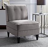 Occasional Chairs Serta UPH10023C Copenhagen Slipper, Accent Chair, Gray