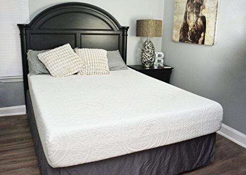 10'' Gel Memory Foam Mattress (Cal King) by Sleep Obsession
