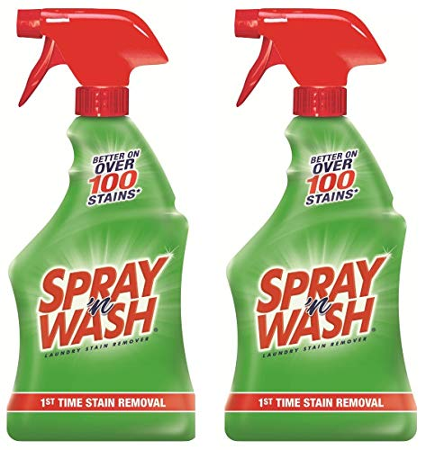 Spray 'n Wash Pre-Treat Laundry Stain Remover Spray, 22 oz (Pack of 2) (Best Stain Remover Spray)