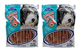 Blue Ridge Naturals Alaskan Salmon Jerky Dog Treats, 1lb (Pack of 2)