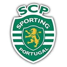 Sporting Clube de Portugal Soccer Vinyl Sticker 4 X 5 inches