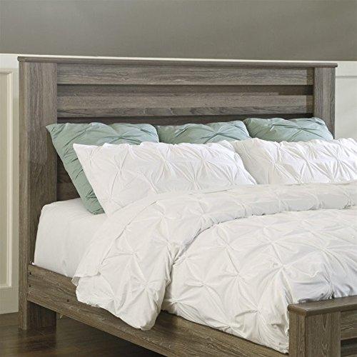 Oak Finish California King Bed - 4
