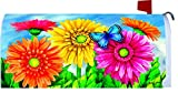 """Gerbera Welcome 2016"" - Mailbox Makover Cover - Vinyl with Magnetic Strips"
