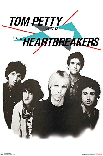 Trends International Tom Petty - Long After Dark Wall Poster, 22.375