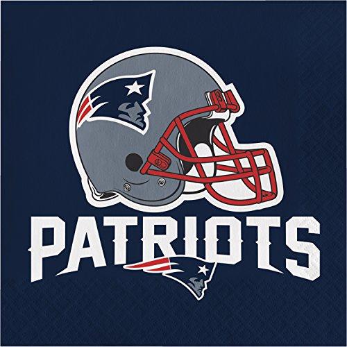New England Patriots Napkins, 48 ct