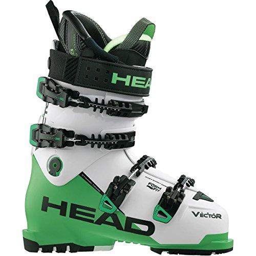 Head Skis USA Vector Evo 120 Ski Boot - Men's Black/Anthracite-Green, 29.5 - Head Skis Freeride Skis