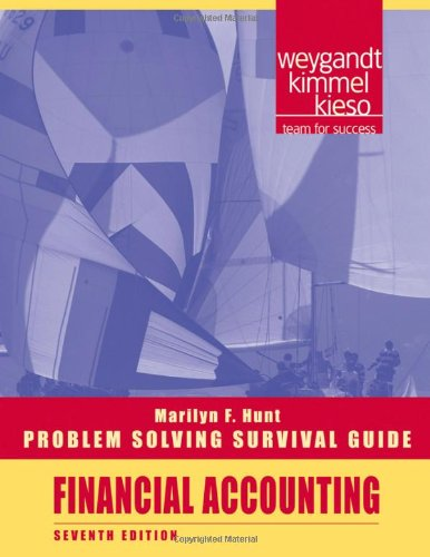 Problem Solving Survival Guide t/a Financial Accounting