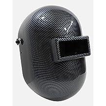 Hardhatgear Hydro-Dipped Carbon Fiber Pipeliners Welding Helmet - Fibre-Metal 110PWE