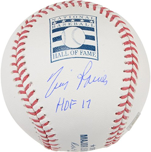 Tim Raines Montreal Expos Autographed Hall Of Fame Logo Baseball with
