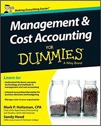 Libro PDF Gratis Management And Cost Accounting For Dummies - Uk
