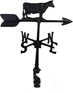 product image for Montague Metal Products 24-Inch Weathervane with Cow Ornament
