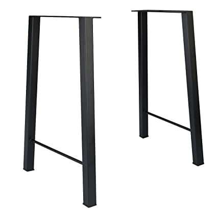 Tengchang 28u0027u0027 Industry Trapezoid Dinner Table Leg Metal Cast Iron Bench  Legs ...