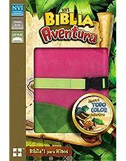 NVI Biblia Aventura Leathersoft Niña