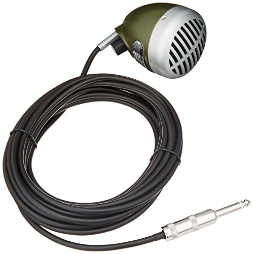 (Shure Green Bullet 520DX Dynamic Harmonica Microphone)