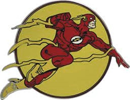 Flash Dc Comics 3d Character Officially Licensed Belt Buckle.