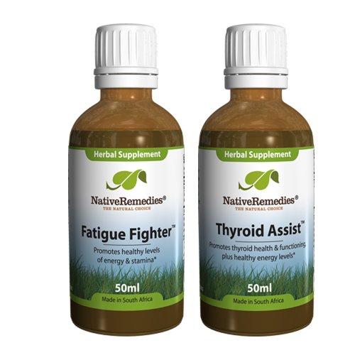 Autochtones Assist remèdes de la thyroïde et Fighter fatigue ComboPack