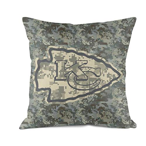 JHGFFD Veterans Day Gift Fashion Soft Home Decorative 18 x 18 45 x 45 Square Army Camouflage Camo Throw Pillow Cover Cushion Case for Couch Sofa Car Bedroom
