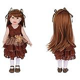 18inch/45cm American Girls Doll Baby Dolls Realistic Reborn Dolls Toy With...