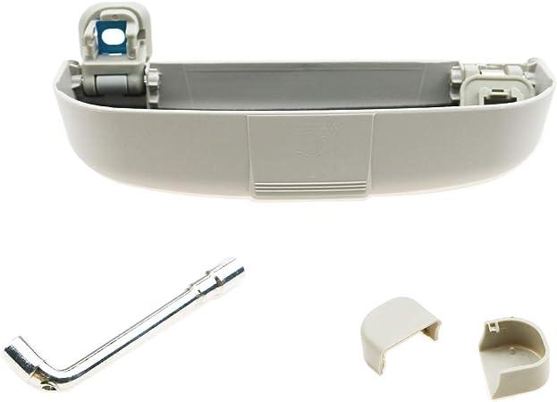 Cdefg Sonnenbrillenhalter Brillenetui Für Volvo Xc90 V60 Auto Brillenhalter Auto Glasses Case Holder Brillenetui Käfig Grau Auto