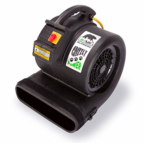 B-Air Grizzly HP Grizzly Floor Fan Damage Pet Cage Dryer Black