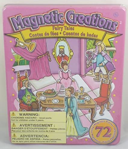 The Canadian Group BT82 Magnetic Creations Playset 72 Magnetic Pieces Fairy Tale