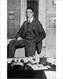 10X8 PRINT. 10x8 inch (25x20cm) Print Artwork depicting F. A. M. Webster. Frederick Annesley Michael Webster, athletics pioneer, coach, sports writer, member of the British Olympic Committee and Secretary of the Amateur Field Sports Association. Pict...