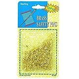 48 Brass safety pins