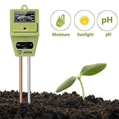 Jellas Soil pH Meter