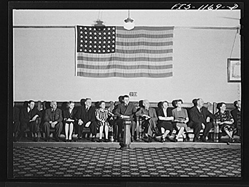 1942 Photo Minneapolis, Minnesota. A meeting of the Smaland Society in Minnesota, an organization of people from the province of Smaland, Sweden Location: Hennepin County, Minneapolis, Minnesota by Historic Photos