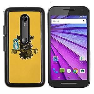 """Be-Star Único Patrón Plástico Duro Fundas Cover Cubre Hard Case Cover Para Motorola Moto G (3rd gen) / G3 ( Pirata"""" )"""