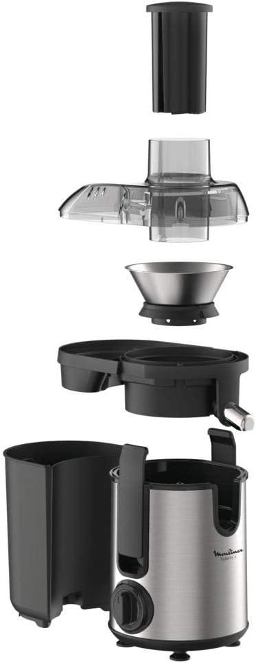 Moulinex JU420D10 - Exprimidor (Licuadora centrífuga, Negro, Acero inoxidable, 0,95 L, 6 cm, Giratorio, 400 W): Amazon.es: Hogar