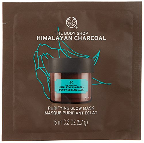 The Body Shop Himalayan Charcoal Purifying Glow Mask, Single