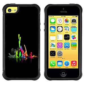 Paccase / Suave TPU GEL Caso Carcasa de Protección Funda para - Color Combo - Apple Iphone 5C